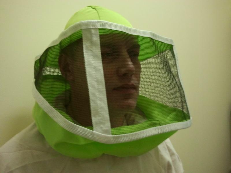 Квадратная маска пчеловода