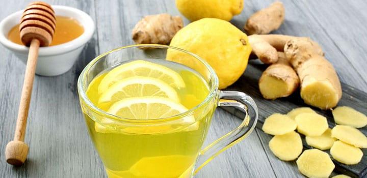 Мед, лимон, имбирь - лучшие друзья в борьбе с простудой!