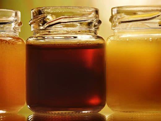 Падевый мед в банке