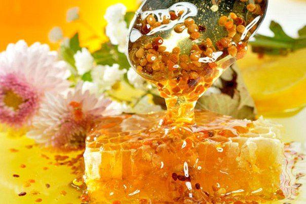 Перга с медом для сезонной профилакики
