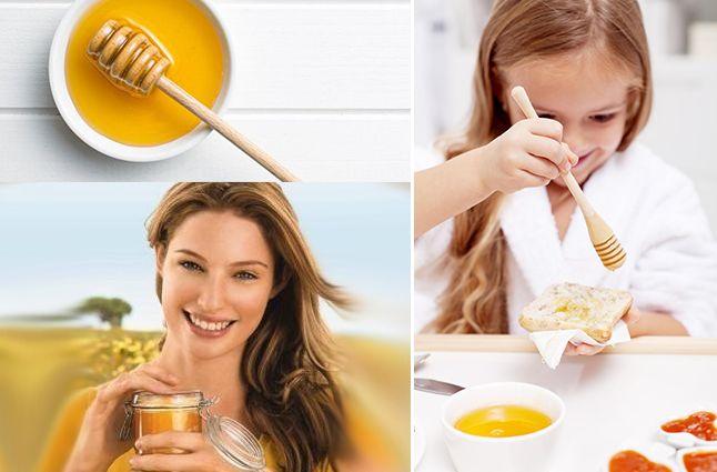 Мед для иммунитета для взрослых и детей