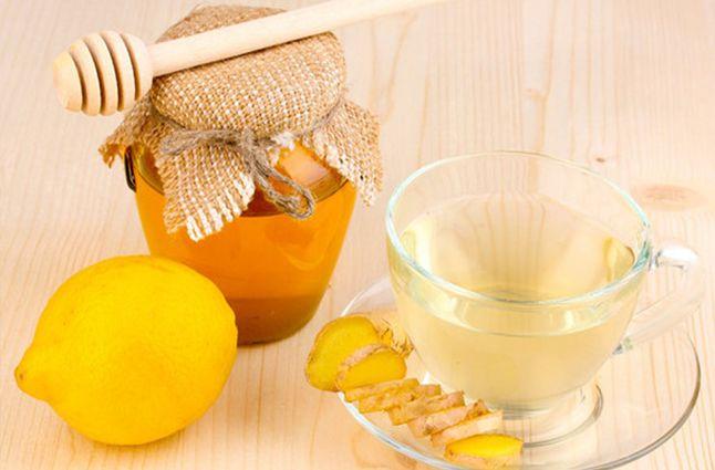 Мед, имбирь и лимон для поднятия иммунитета