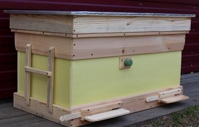 пчеловождение в ульях лежаках на 20 рамок