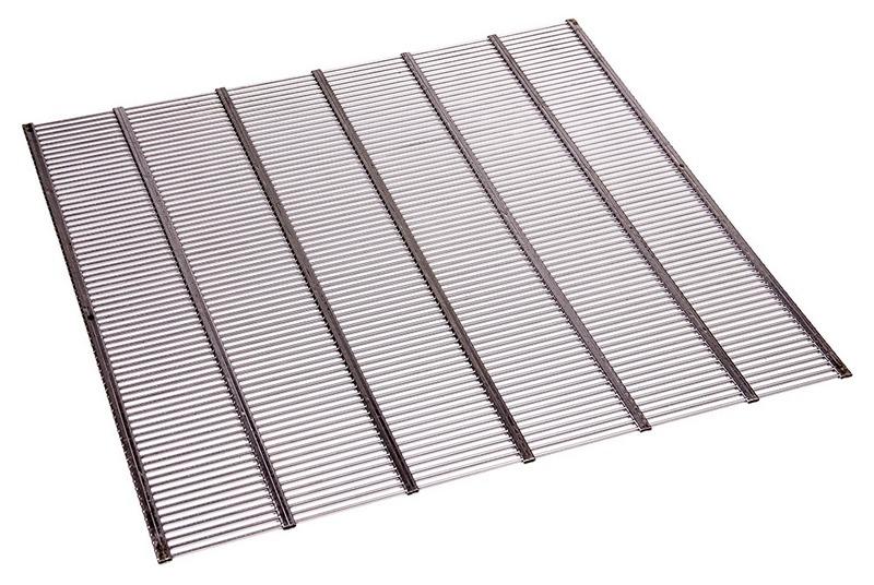 Ганемановская разделительная решетка на 12 рамочный улей из нержавеющей стали