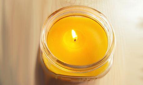 Свечи из пчелиного воска отличный подарок своими руками